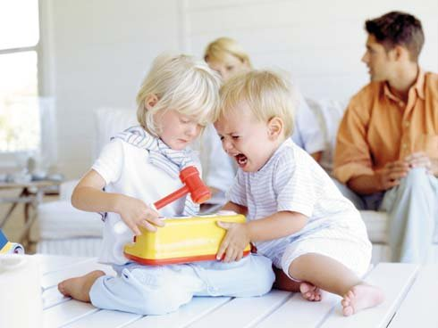 Jaloezie bij kinderen