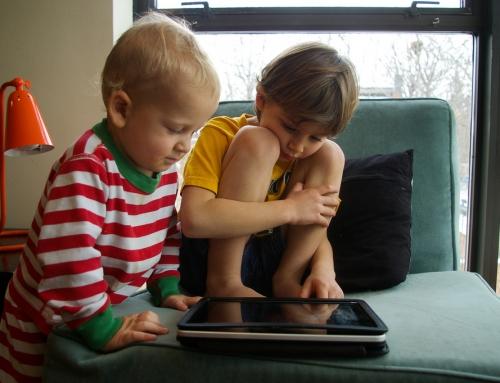 Tabletgebruik jonge kinderen