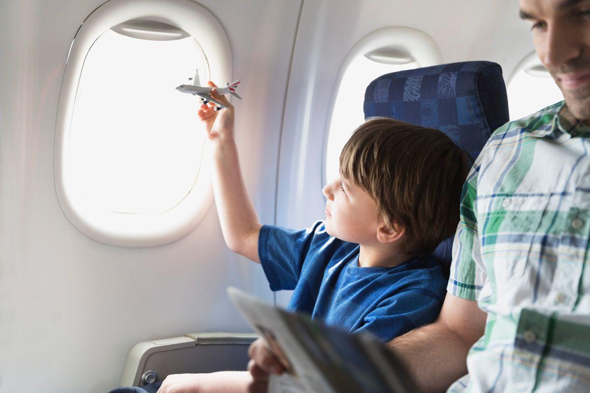 Op vlieg vakantie met kinderen
