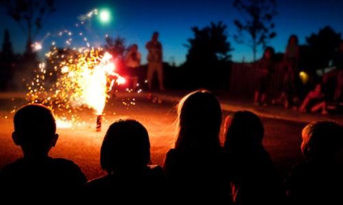 Kinderen veilig met vuurwerk